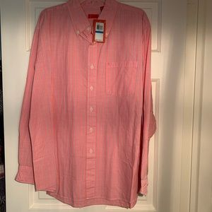 NWT IZOD button down long sleeve men's shirt, XL